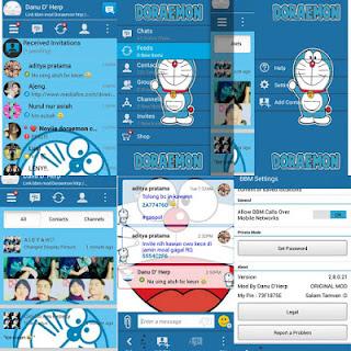 BBM MOD DORAEMON APK V2.8.0.21