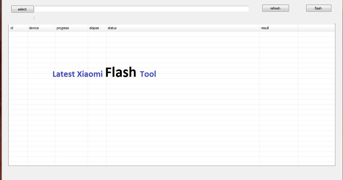 Xiaomi Mi Flash Tool Latest Version for PC Windows