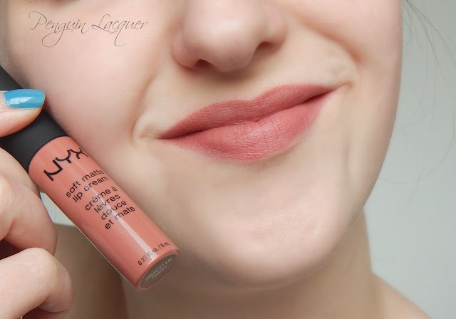 nyx soft matte lip cream cannes mit stift