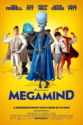 Megamind 2010 Dual Audio Hindi 720p BluRay ESub 900MB