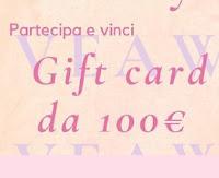 Concorso : vinci gratis Gift Card da 100€ con Cloudless Jewels