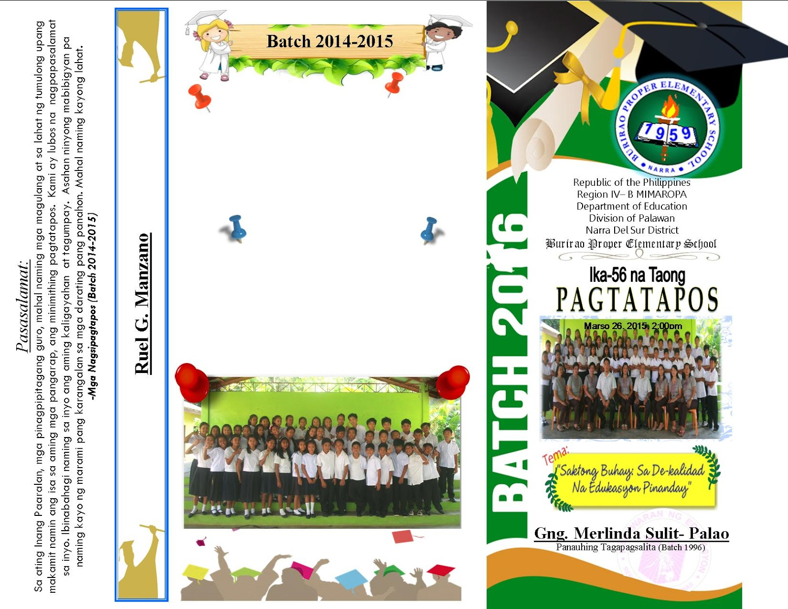The k to 12 program covers