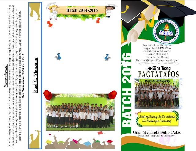 graduation program - Basilosaur - graduation program template pdf