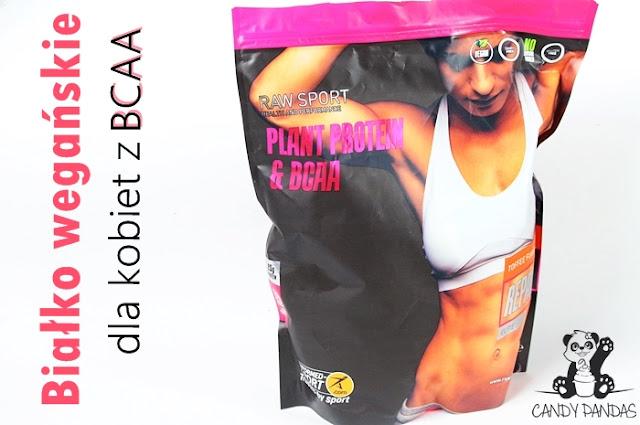 Białko wegańskie dla kobiet RAW SPORT ELITE Repair + BCAA