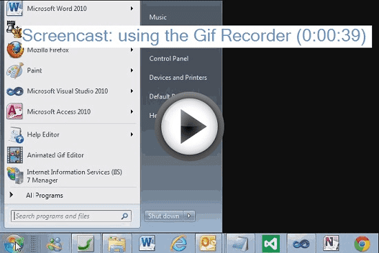 Screenshot Gif Recorder 3.2.0.3 Full Version