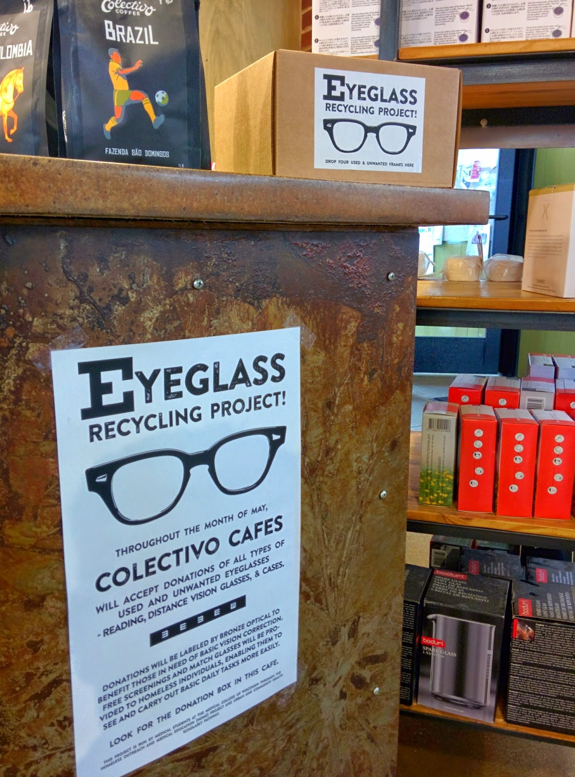 a1c6f2d7b0 Greater Milwaukee Men  Be ReSpectacle - Donate Old Glasses At Colectivo