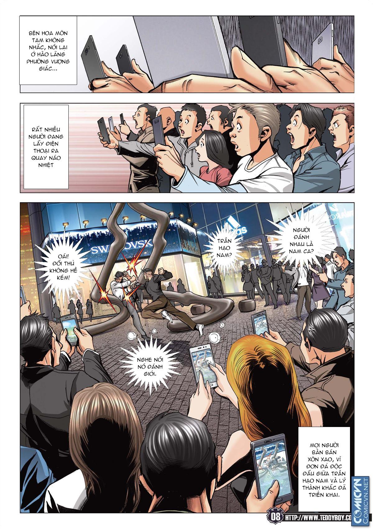 Người Trong Giang Hồ chapter 2093: nó là tay trong trang 7
