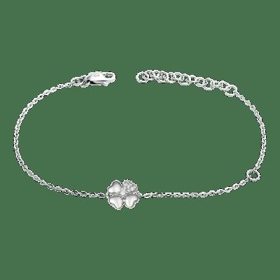 Lắc tay Kim cương Vàng trắng 14K PNJ First Diamond