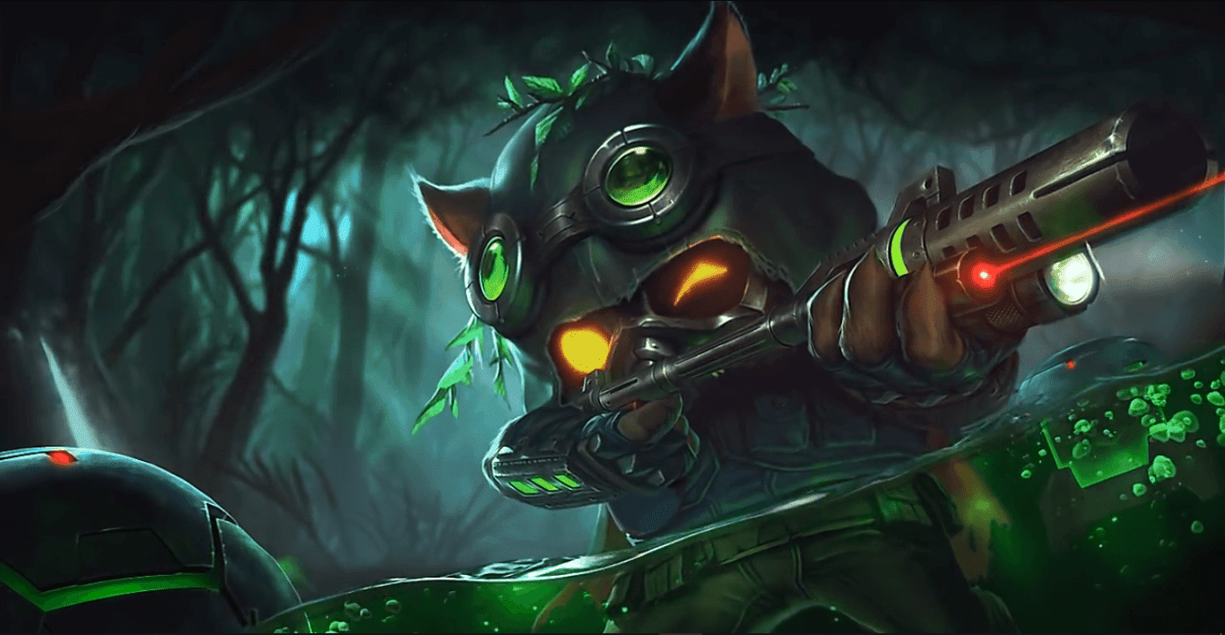 Omega Squad Teemo [Wallpaper Engine Free]