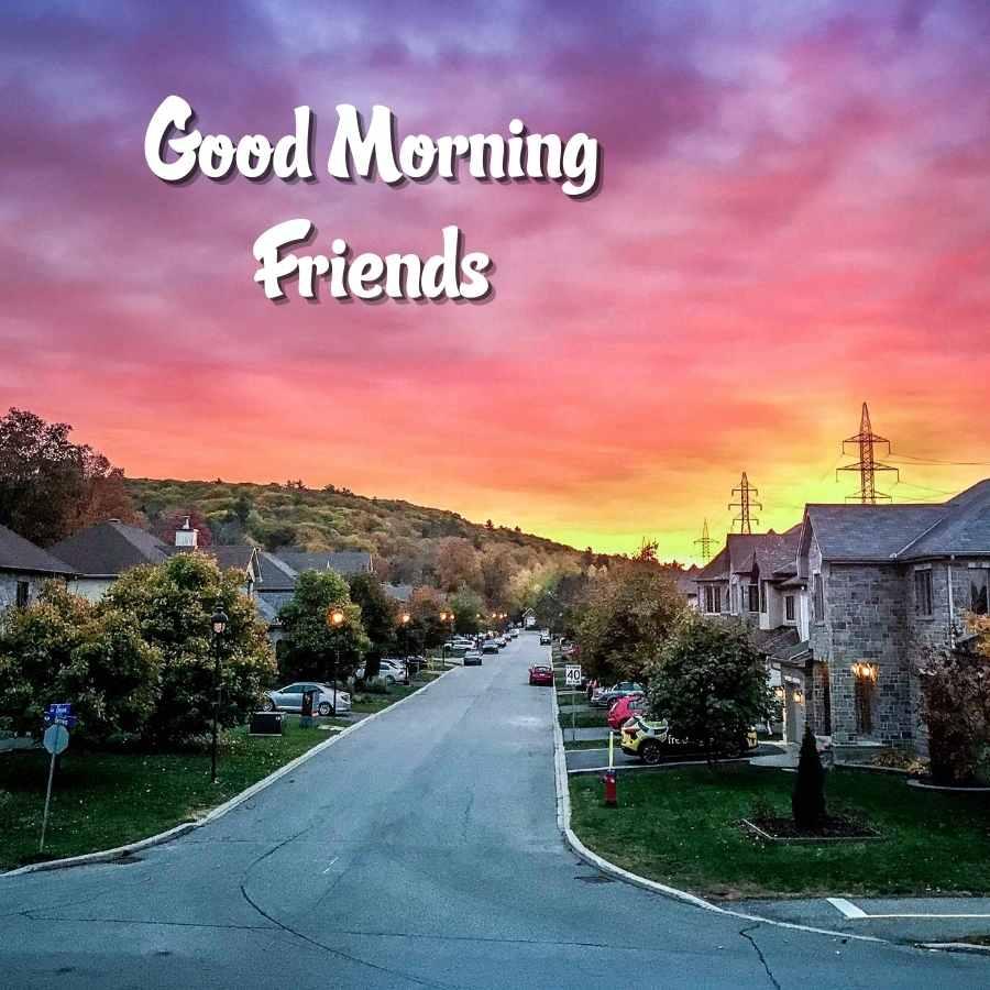 good morning friend image