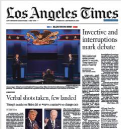 Los Angeles Times Magazine 30 September 2020 | Free PDF Magazines Download