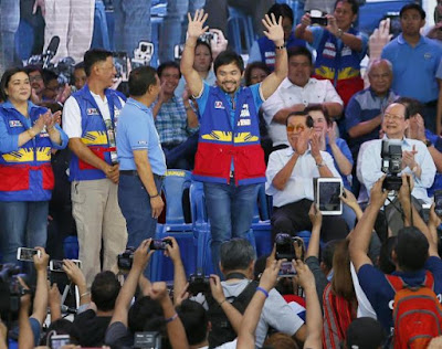 Pacquiao candidato a Senador en Filipinas.