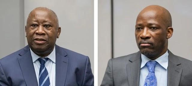 Laurent Gbagbo et Charles Blé Goudé libres de tout mouvement