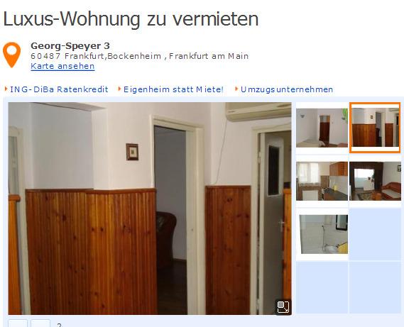 Wohnung Speyer  Zimmer