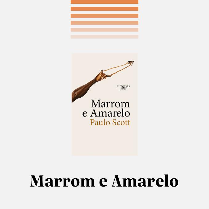 Resenha: Marrom e Amarelo — Desafio 5 livros nacionais em 5 dias