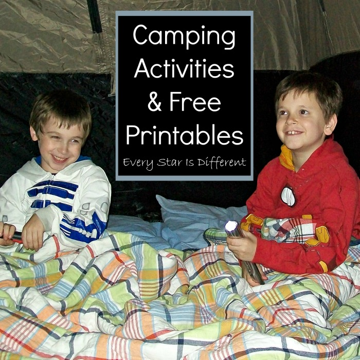 Camping Activities & Free Printables