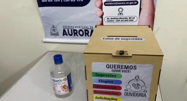 Prefeitura de Aurora implanta 'caixa de sugestões' para ouvir anseios da população