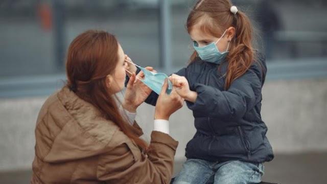 5 Aturan Penggunaan Masker Kain Untuk Anak