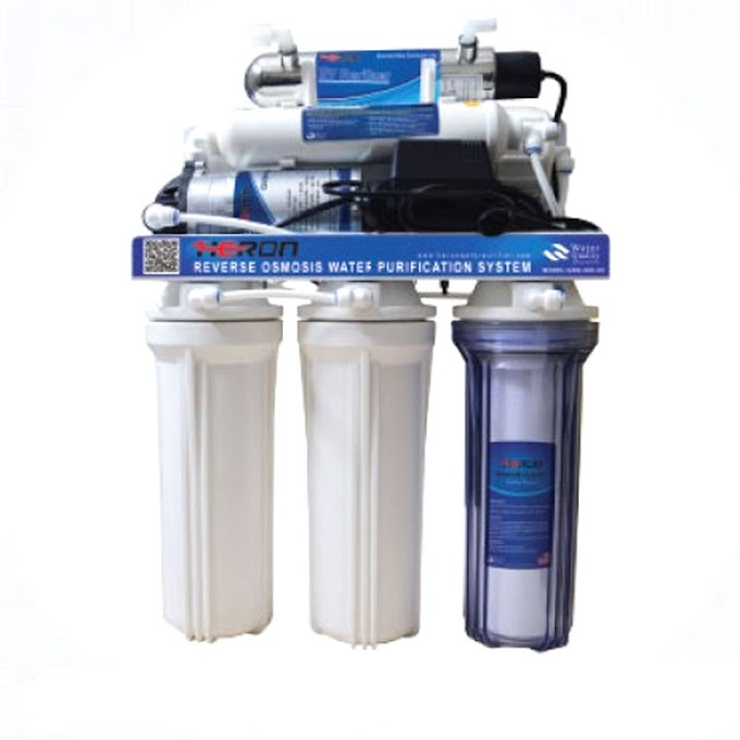 Heron GRO-060-UV 6 Stages UV+RO Water Purifier.RO +UV water filter price in bangladesh
