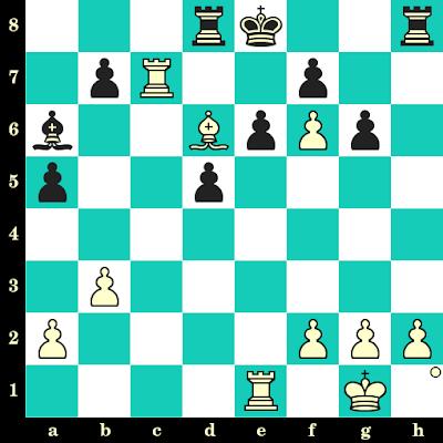 Les Blancs jouent et matent en 2 coups - Gadir Guseinov vs Ernesto Fernandez Romero, Aviles, 2000