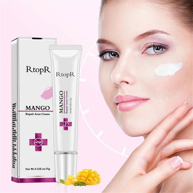 Mango Repair Acne Cream Anti Spots Acne Treatment Scar Blackhead Cream Shrink Pores Whitening Moisturizing Face Skin Care