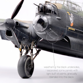 Build review Pt IV: 48th scale Avro Lancaster B Mk.1 from Hong Kong Models