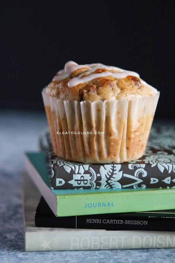 Muffins de calabacín y limón (que todos han estado esperando)