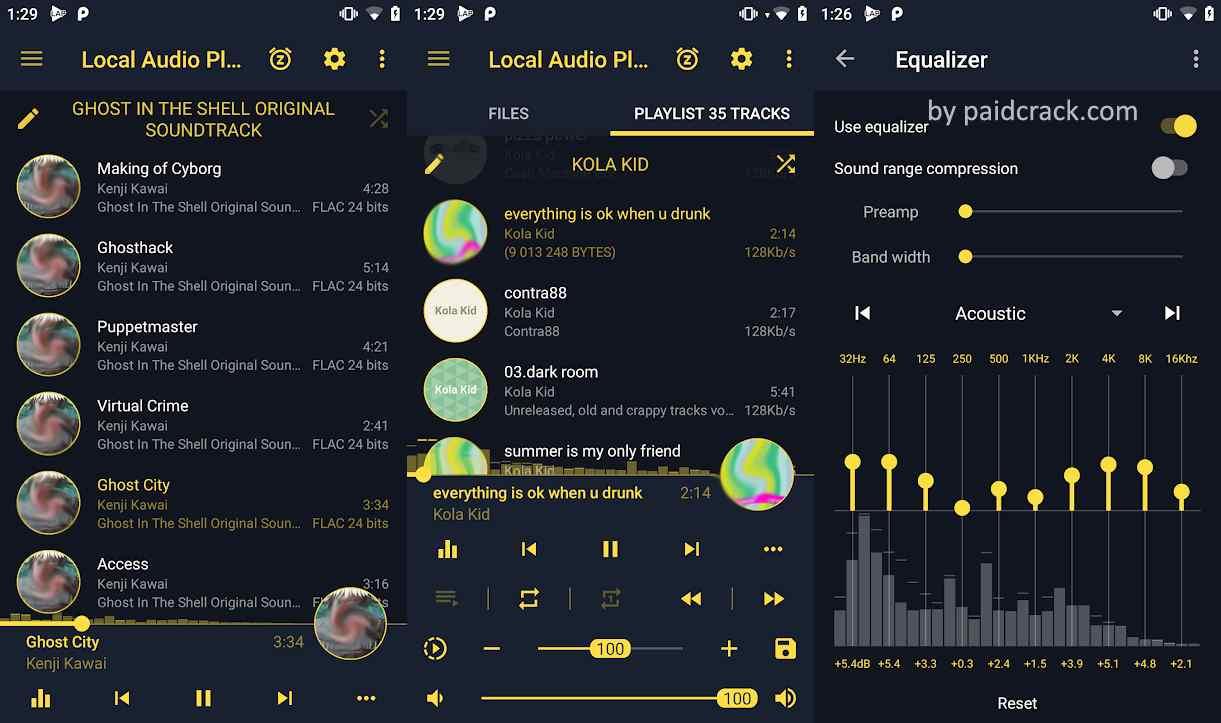 LAP - Local Audio & Music Player Pro Mod Apk 0.9.7
