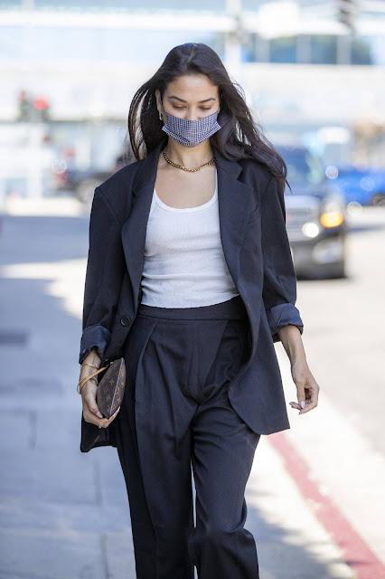 Shanina Shaik – Running errand in West Hollywood