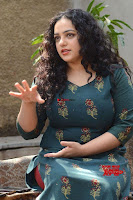 Nithya Menon promotes her latest movie in Green Tight Dress ~  Exclusive Galleries 037.jpg