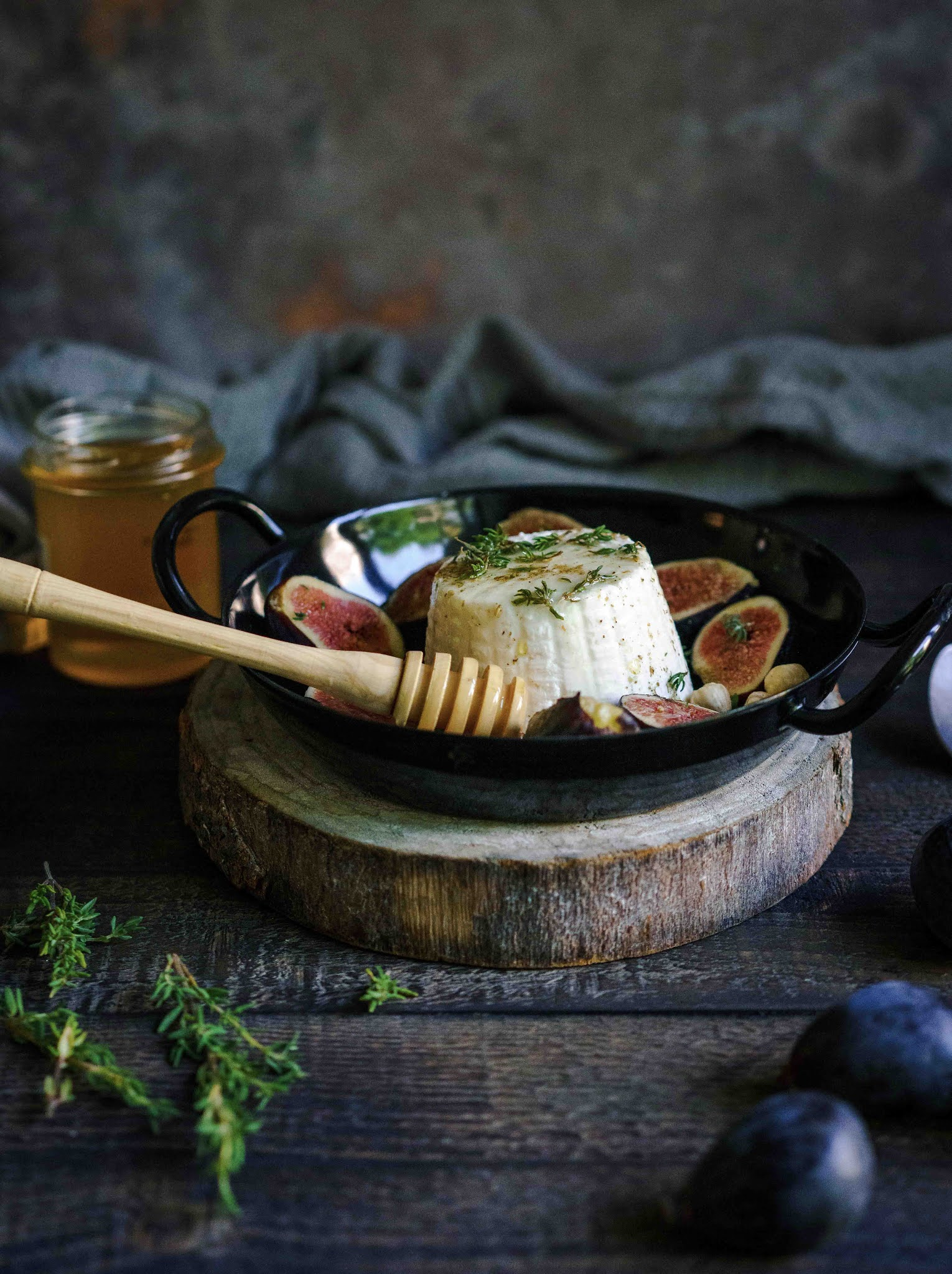 figues, cuisine simple et facile , ricotta