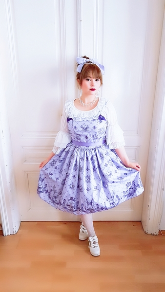 cherie cerise, auris lothol, cat dress, kawaii, jfashion, purple
