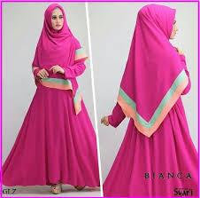 Baju Muslim Gamis Syar'i