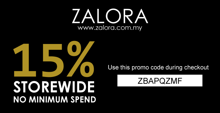 Perpetual Discount on Zalora
