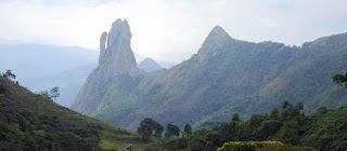 Pedra Três Pontões - Afonso Claúdio