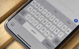 Scrittura iPhone