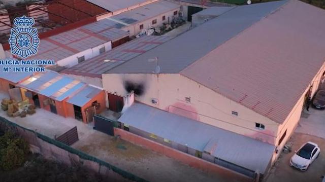 Desarticulado un laboratorio clandestino destinado a la producción de droga y detenidas 30 personas