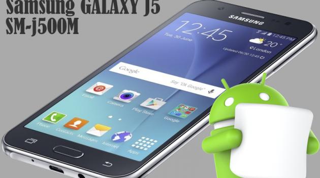 Stock Rom Firmware Marshmallow 6.0.1 Samsung Galaxy J5 SM-J500, J500M, Como instalar, Atualizar