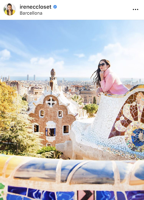 Park Guell Barcellona foto