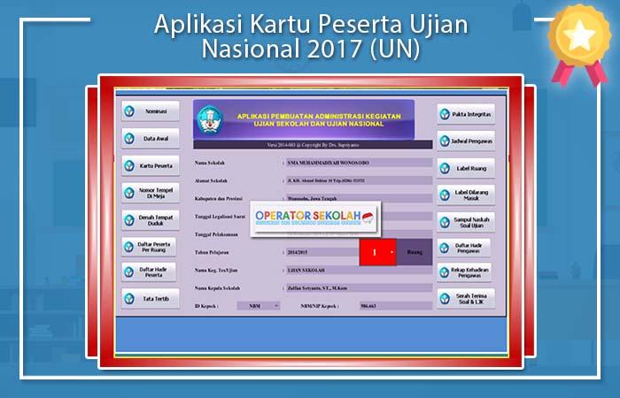 Aplikasi Kartu Ujian Nasional