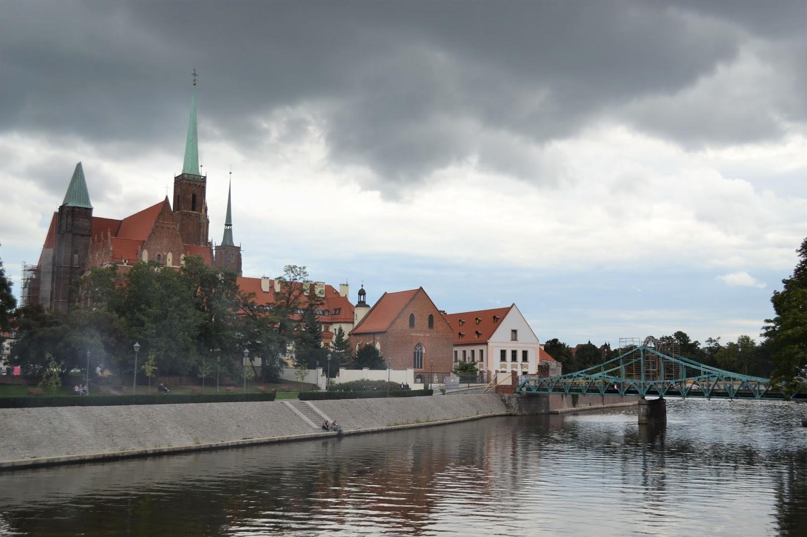 Ostrow Tumski e la Chiesa di Santa Croce