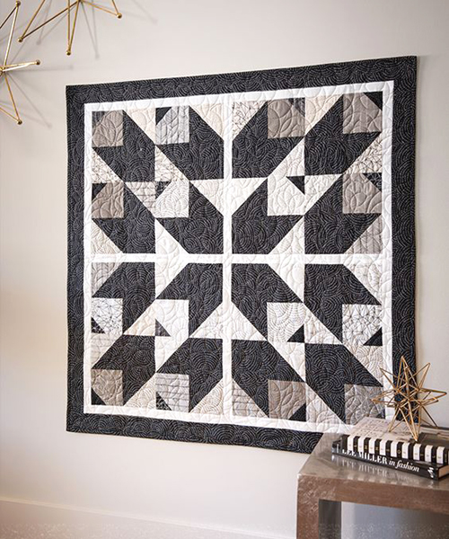 Crazy Cat Star Quilt -  Tutorial