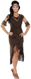 Women's Spirit Costume for Thanksgiving Day