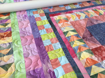 Jacqui's hand-dyed Baby Playmat