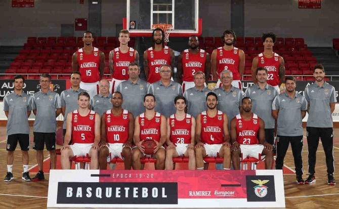 Blog Benfica Plantel de Basquetebol para a nova temporada