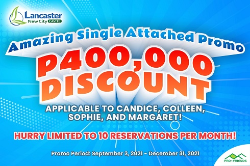 Starting the Ber months with amazing discounts on Lancaster New City