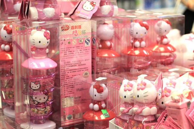 Hello Kitty Shops In Chinatown London UK Travel Blogger What to buy