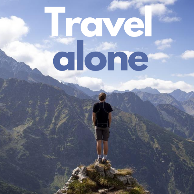 Traveling on your own for the first time