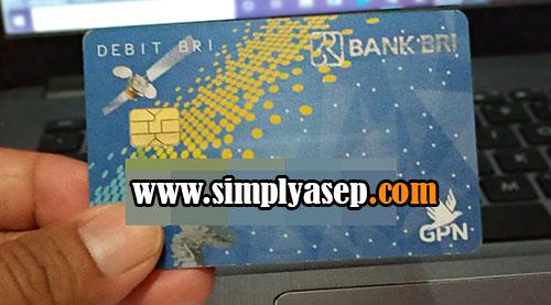 ATM Bank BRI.  Foto Asep Haryono