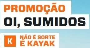 Cadastrar Promoção Kayak 2019 Oi Sumidos Concorra Viagem Com Amigos